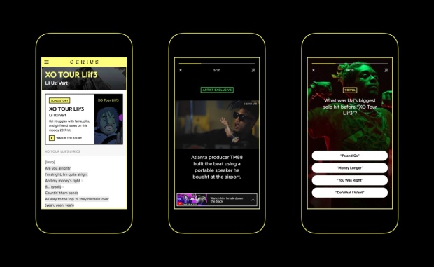 Genius app launches Song Stories feature with YouTube